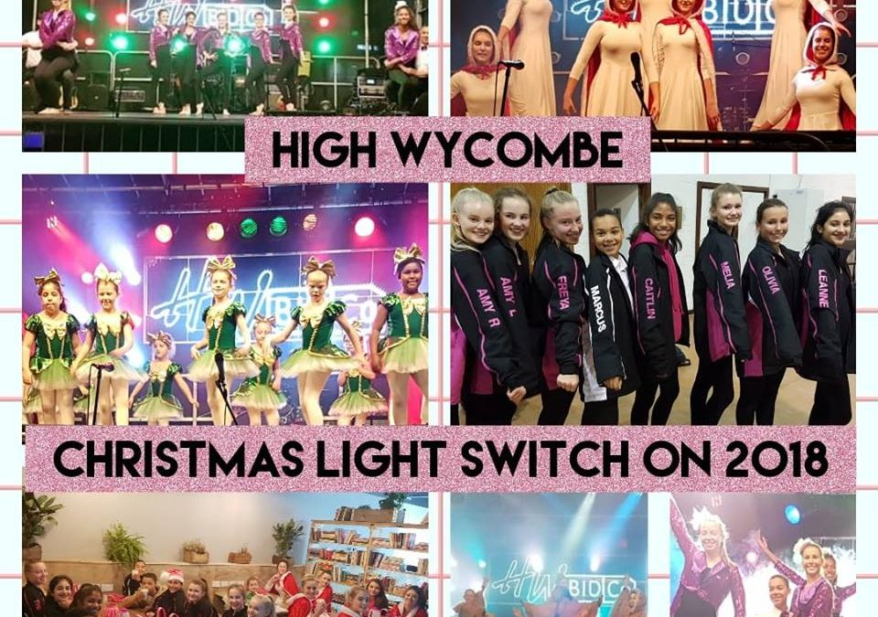 HIGH WYCOMBE CHRISTMAS LIGHTS SWITCH ON